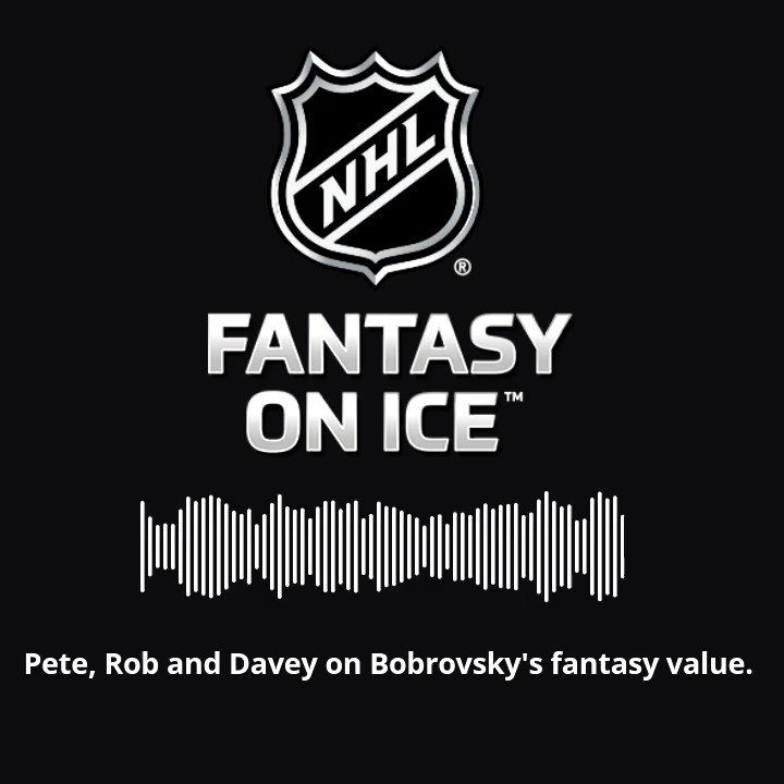 Sergei Bobrovsky has a higher #FantasyHockey ceiling after signing with @FlaPanthers 🌴😻 Free agency & trade reaction in latest episode of @NHL Fantasy on Ice: apple.co/2xoTzxL