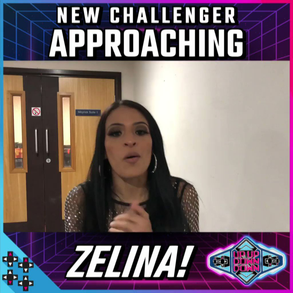 A NEW CHALLENGER APPROACHES! Could @Zelina_VegaWWE take the #UUDDTitle?!