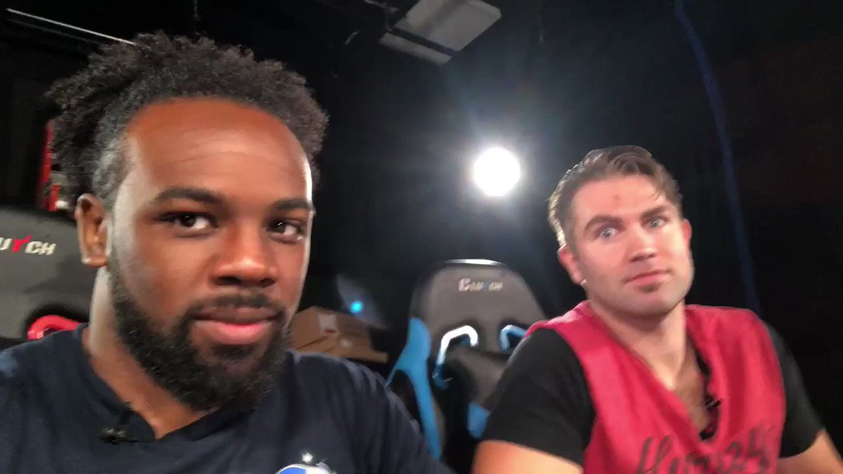 Win the tag team championships for the 6th time. Then hit the studio being built for your youtube channel @UpUpDwnDwn with your beastie to play Smackdown vs Raw 2006..... #GmMode - I love life