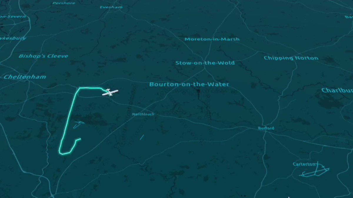 We're really excited for this year's @airtattoo ✈️Last week we spotted one light aircraft pilot who seemed to be getting into the spirit of things too, by writing 'RIAT' in the skies over Gloucestershire! We tracked the flight and you can watch it below!