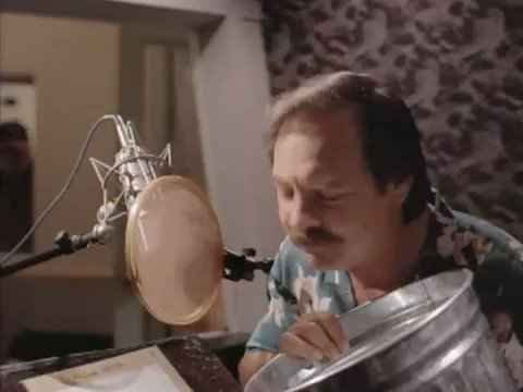 Absolutely think more people need to see this video of how voice actor Frank Welker made many of the lion roars for the original Lion King