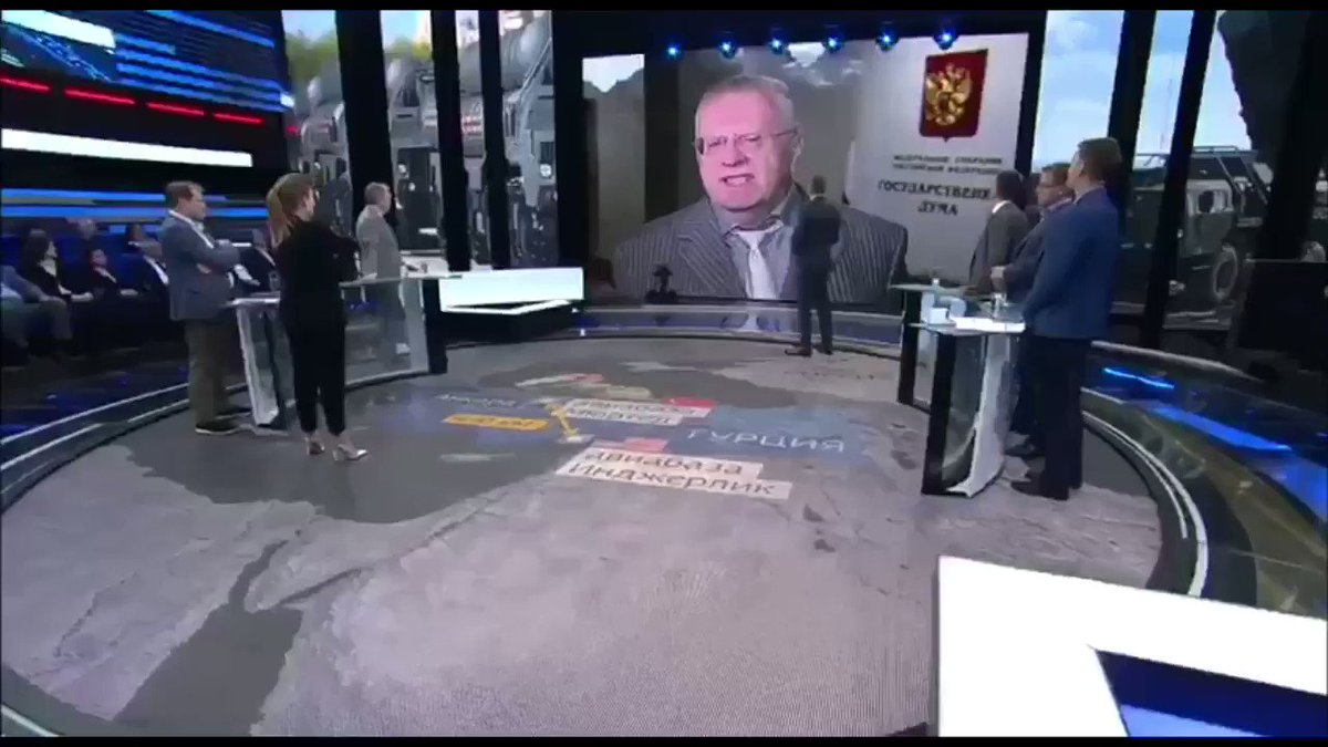 "Zhirinovsky: ""#Erdogan personally told me #Turkey might leave #NATO in the near future in order to become a member of #SCO (Shanghai Cooperation Organization)"""