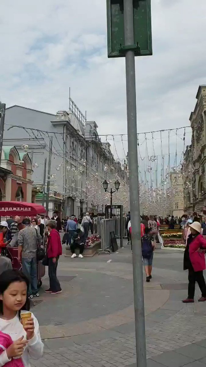ساحة الكرملين #موسكو
