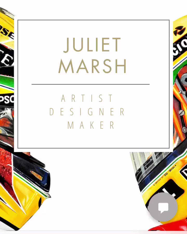 There's lots more to go on here as I get it all ready for sale and things like event updates, blog and blog posts, I'm also working on workshops, crafts and YouTube videos but go visit my website for originals and prints 😊🙌🏼🏎 thanks  http://www.julietmarsh.com and link is in bio