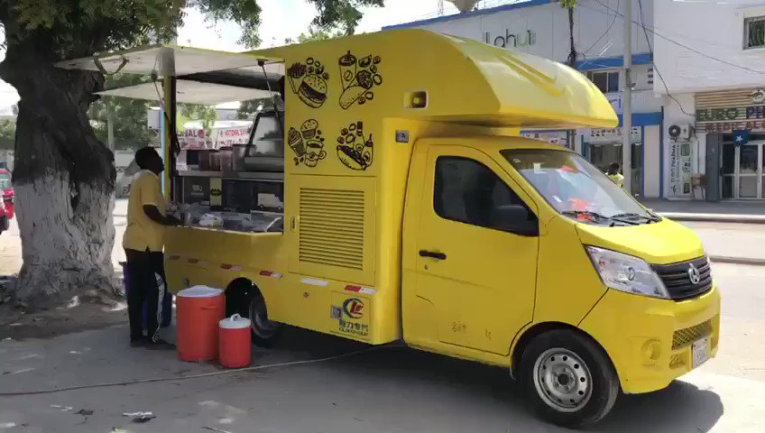 Food truck business emerges in #Mogadishu. #Somalia