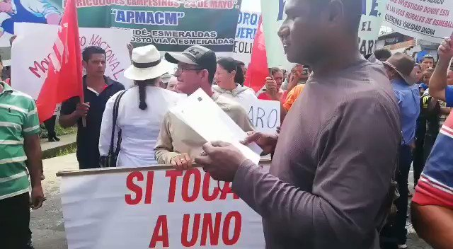A National strike started in Ecuador againts the economic measures implemented by @Lenins Moreno Administration @telesurenglish