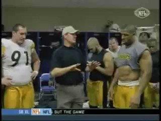 They shot me in Denver. You dont want noneeeeeee! ~ Joey Porter #Steelers