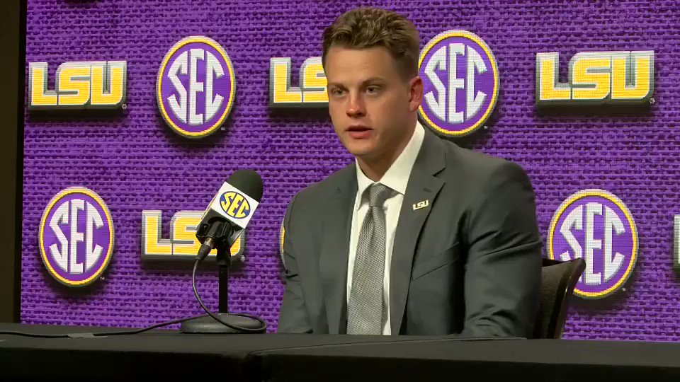 """Watch former Ohio State quarterback Joe Burrow explain """"differences"""" between being at Ohio State and LSU"""