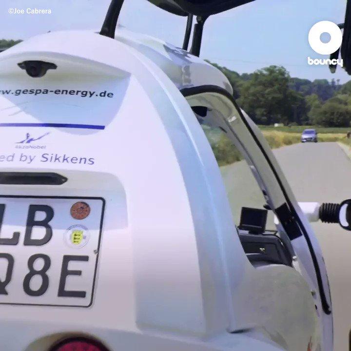 エコすぎる次世代三輪EV!by Joe Cabrera価格や入手方法はこちら👉#エコ #次世代 #電気自動車