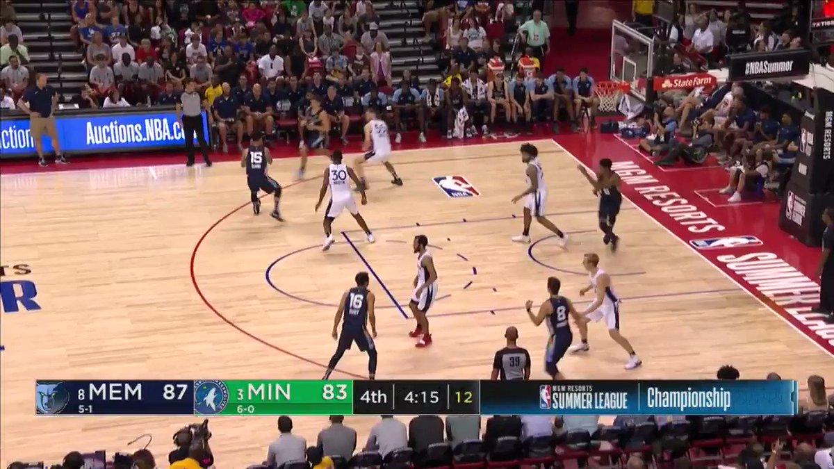 See a bucket. Get a bucket.  📺: ESPN2   @GraysonJAllen | #GetMemphis