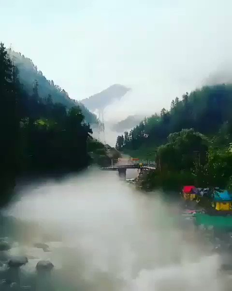 Barot Valley: Paradise on Earth!  Barot Valley is a beautiful small village and part of the Uhl river. This, located in the Mandi district of Himachal Pradesh.
