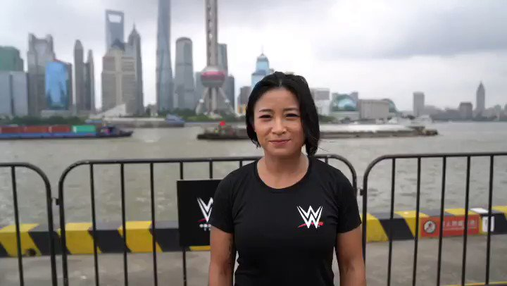 Halfway through day two of the #WWEChina Tryout and @XiaWWE is very impressed with the athletes so far!