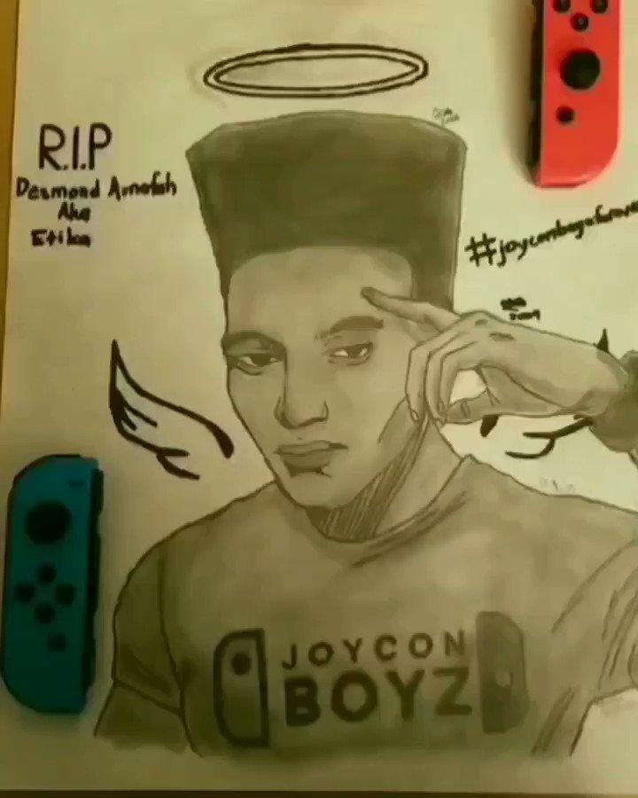 Fly High Desmond. This is my tribute to your greatness. #JOYCONBOYZFOREVER #JOYCONBOYZ #EtikaForever
