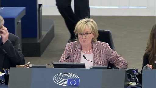 Image for the Tweet beginning: My speech in the #EuropeanParliament