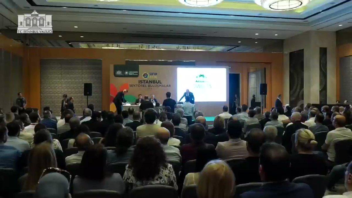 Sıfır Atık İstanbul Buluşmalarında;  alışveriş merkezleri ve özel hastanelerimizin temsilcileriyle bir araya geldik.   Sıfır atık uygulamasına geçmek için söz aldık.                      Mavi - Yeşil İstanbul idealimize hep birlikte ilerliyoruz.