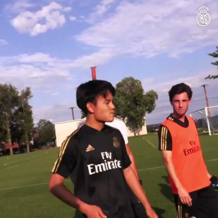 So get the Napkin out to write 2 things down. The 18yr old Japanese Boy Takefusa Kubo after coming off the pitch training with the Real Madrid 1st Team was asked a couple of questions. Simple replies, Father & 2-3yrs old.