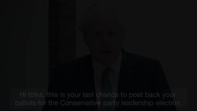 With less than 150 hours before polls close, this is your last chance to post your ballot. Please vote for me so I can deliver Brexit by 31st October, unite our country and defeat Jeremy Corbyn.  If you haven't received your ballot paper, please visit: http://backboris.com/ballot