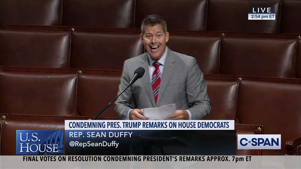 House Votes To Condemn Trump's Attack On Congresswomen As Racist
