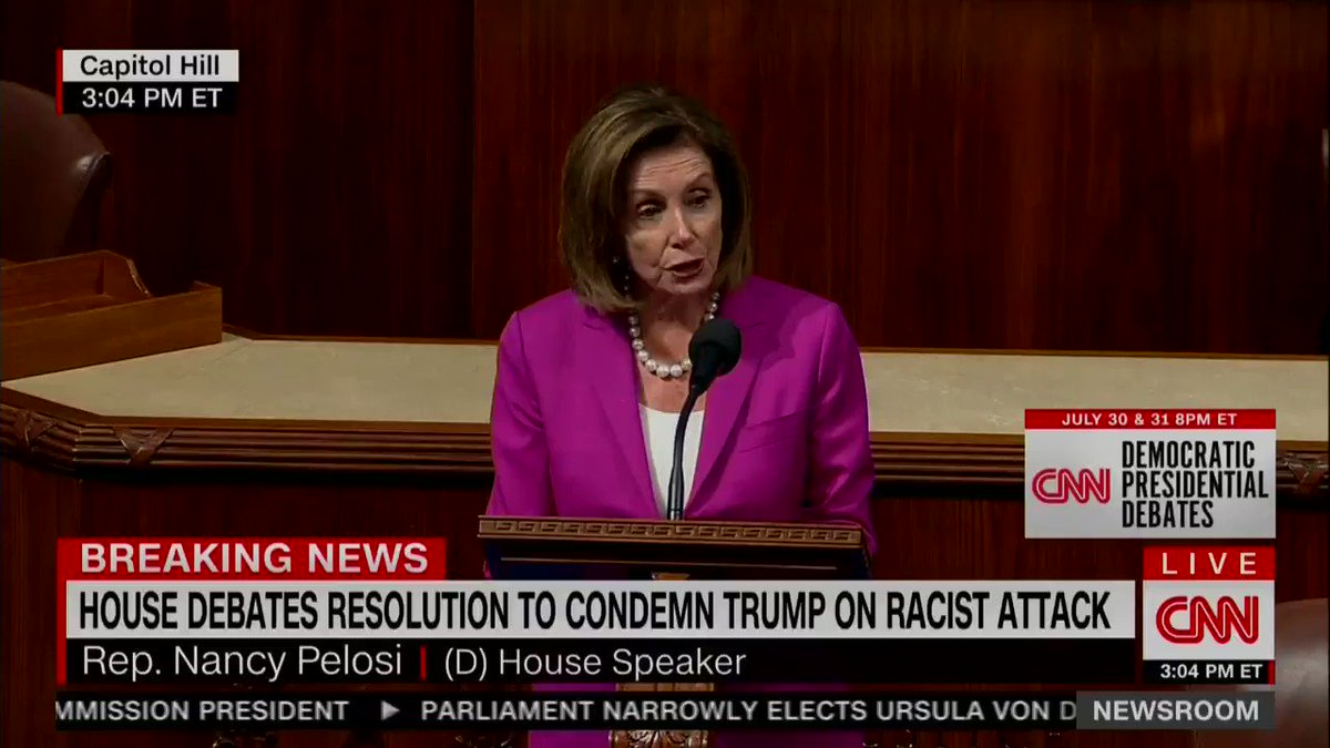 💥WATCH💥DEMS do nothing about the Border for 6 months but will spend the entire day fighting for Speaker Pelosi's ability to break House Rules to call the President of USA a RACIST on the floor of Congress‼️  💥This is the Democrat Party‼️  💥RETWEET THIS