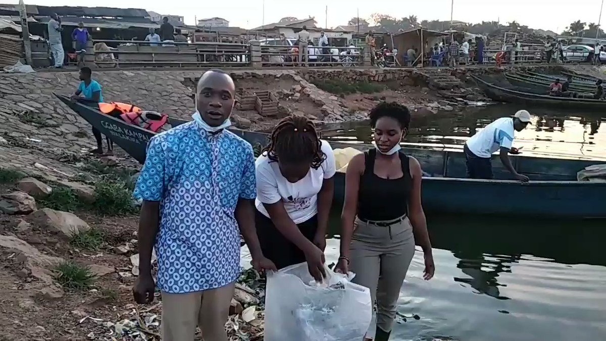 We are continuing with the fight against #PlasticPollution through creating awareness and cleaning up Lake shores. #BeatPlasticPollution #PreserveOurLakes