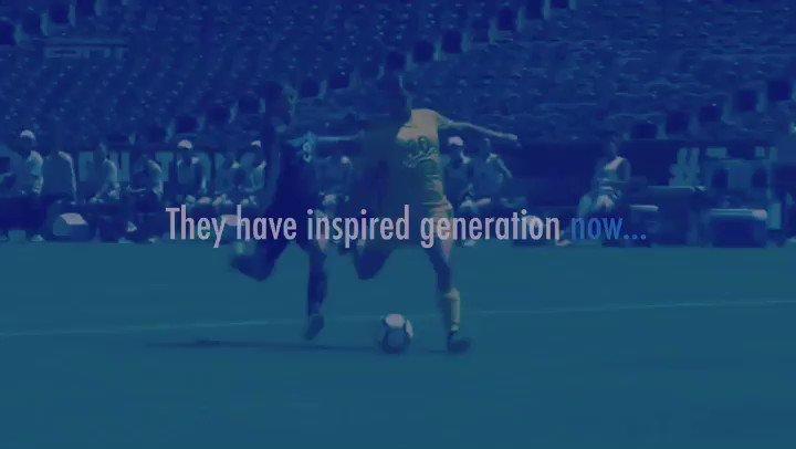 """La """"inspiración"""" para querer ser como ELLAS es lo que conseguirá que en el FÚTBOL la igualdad sea real. #YoQuieroSerReferente #IgualdadReal #OurGoalisprogress #WorldCupEquality #OurGoalisNow #WomenFootball #WomenSoccer #FútbolFemenino #Portera #Portero #Goalkeeper"""