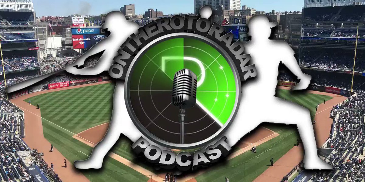 The #OTRR #MLB #DFS podcast goes live at 5:00 P.M. EST  In yesterday's Member-Only podcast @rotoradarRiemer talked about liking the Astros and George Springer.  The Astros scored 6 runs and Springer had 2 HRs!  If you want to listen then sign up here ->https://rotoradar.net/MLB