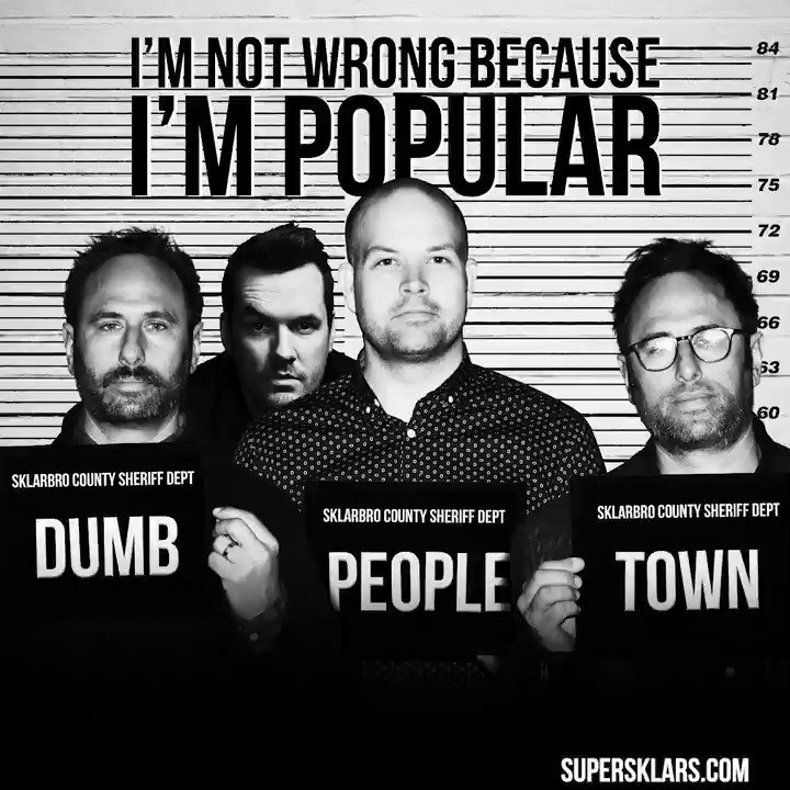 He's wrong about not being wrong, which in our opinion, is really wrong. Confused? Us too. Come join our confusion over in Dumb People Town! Full episode with the hilarious @jimjefferies right here: bit.ly/DPTpodcast