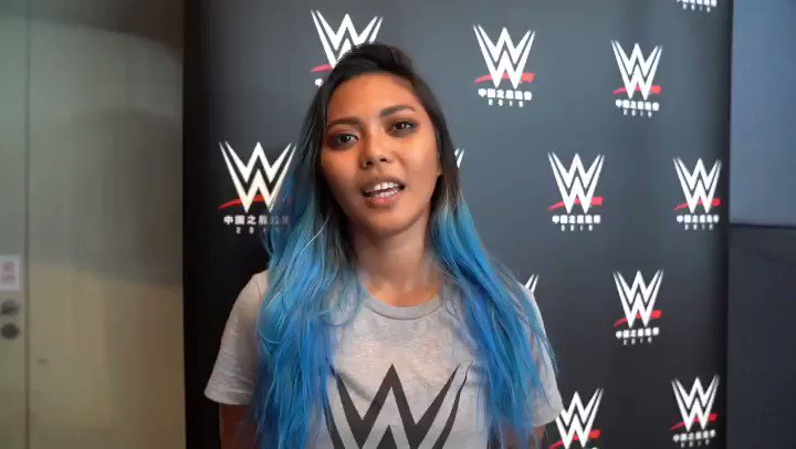 For @CrystalMNL, the first two days of the #WWEChina Tryout have been mind-blowing, but she's excited to finish strong! #NXT