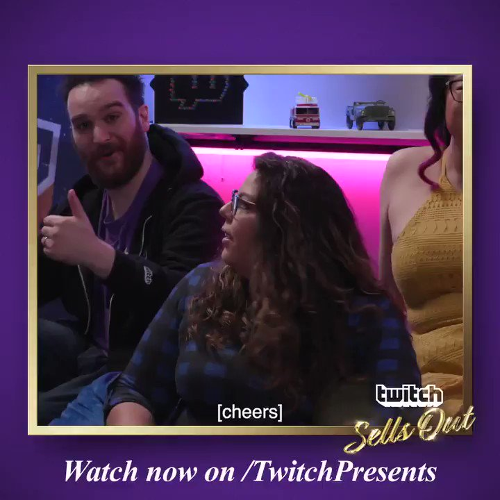 Strike a pose, then tune into Twitch Sells Out: twitch.app.link/2cOq9GS0jY