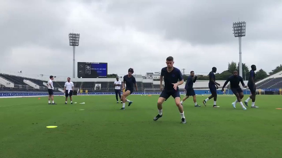 PICTURES: First day of training in Japan for Chelsea, now with 100% more Pulisic