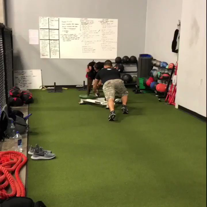 Post activation Potentiation for Armon getting ready for #ufc240 contrast method sets for enhanced power production! #darustrong #Att