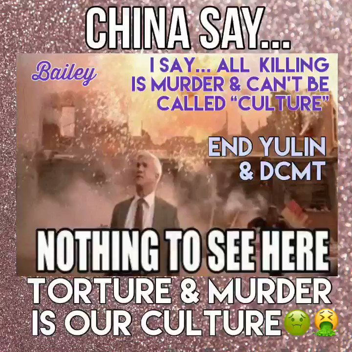 BTW-that poor sweet innocent soul is still alive-skinned live after enduring days of torture & put aside each time for a new round of unbelievable pain-the poor dogs around it know they're next-is there no horror these evil people won't sink to💔💔💔🐾#RaiseYourVoice🗣