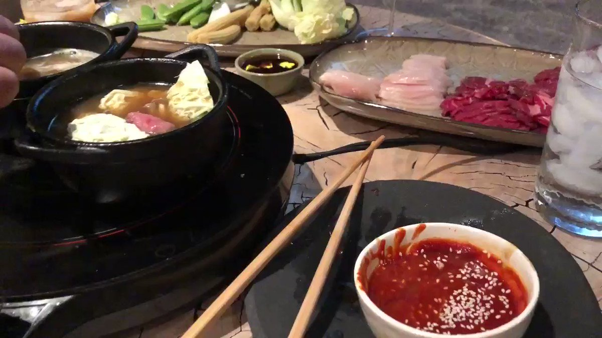 shabu shabu date night with my little cravings mini cast irons and an induction burner!