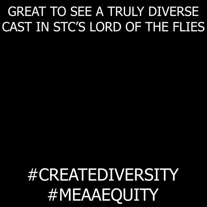 Great report @abc730 of the diversity in casting in @SydneyTheatreCo 's new production of Lord of the Flies. #MEAAEquity #CreateDiversity