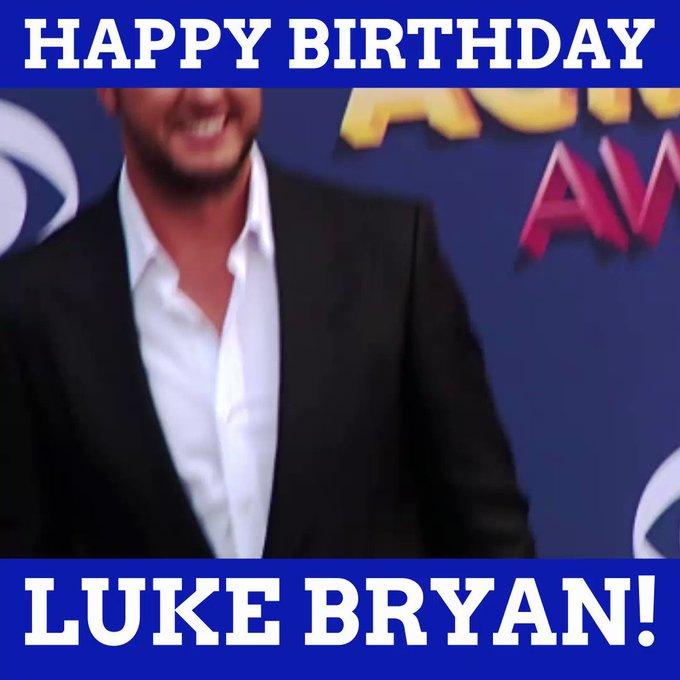 Happy Birthday, Luke Bryan!