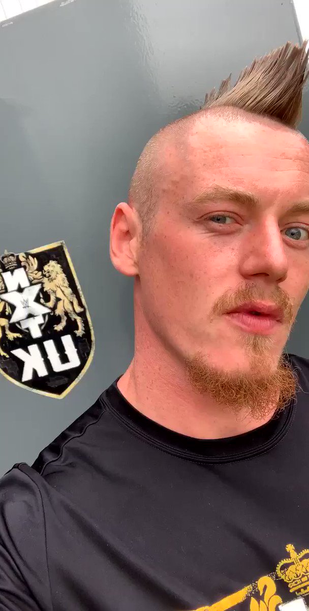 Tonight, #NXTUK rolls back into your life like a roaring locomotive. Get yourselves subscribed to the WWE Network with immediate effect