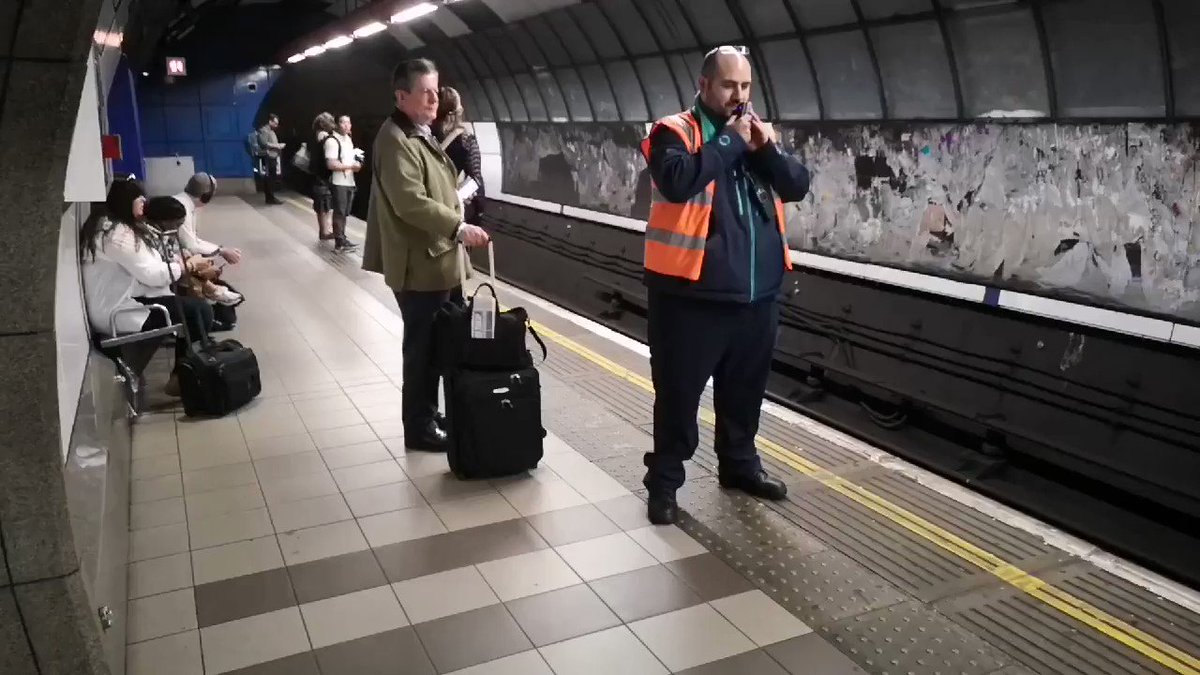@Michael_Buffer Hi Michael, you a should stop by Bank Station this weekend while you are in London and check out the new you! #dlrbank #tfl #dlr #bank
