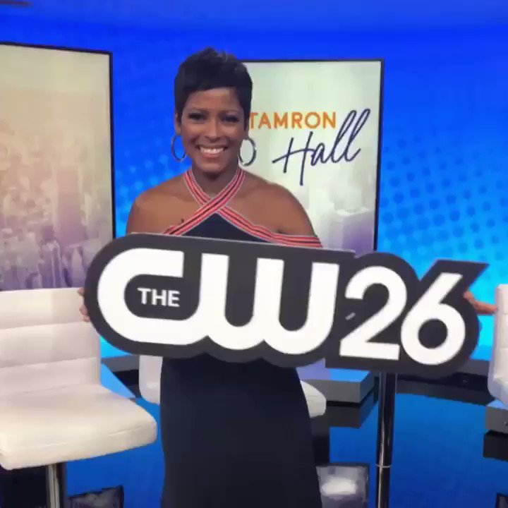 Good afternoon Chicago! Follow along our stories today to see @tamronhall visit her Chicago home stations, catch up with local media outlets and more! @wciu @cw26chicago