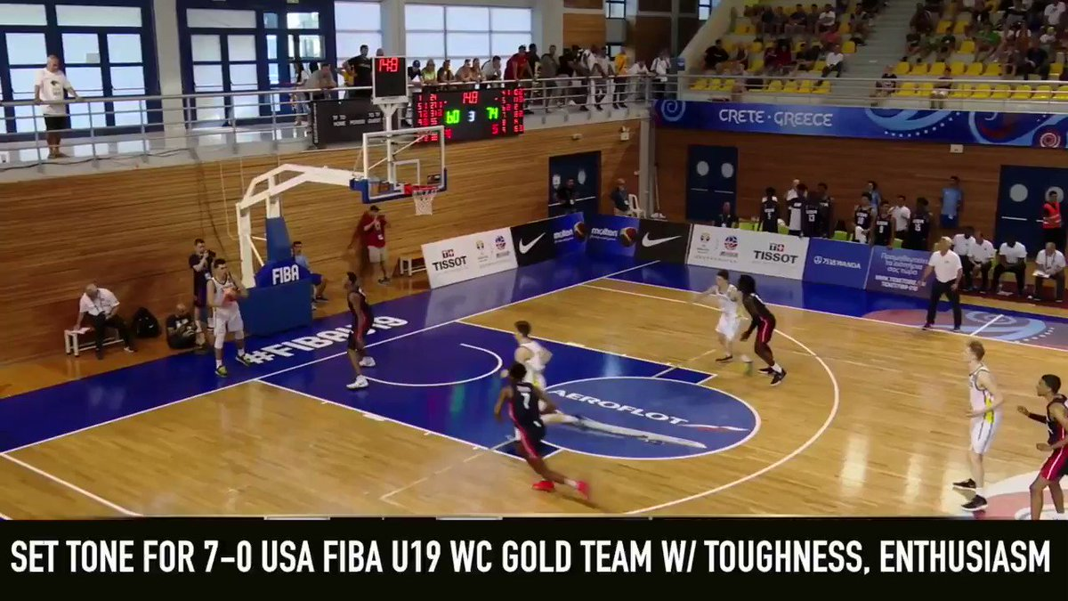 For the third consecutive summer, Scottie Barnes powered an @usabasketball team to a gold medal with his unique combination of size, length, basketball IQ, defensive intensity + passing acumen, playing a Draymond Green-type role >> dx.im/2021-Scout