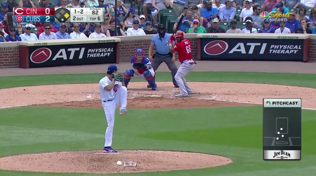 Yu Darvish pitching with emotion for @PitchingNinja.  Oh, and 98 mph 🔥 is always welcome