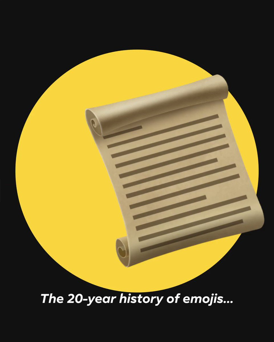 Today we celebrate 20 years of 😂😍😭🙈- we ❤️ them all. What's your go-to emoji? #WorldEmojiDay