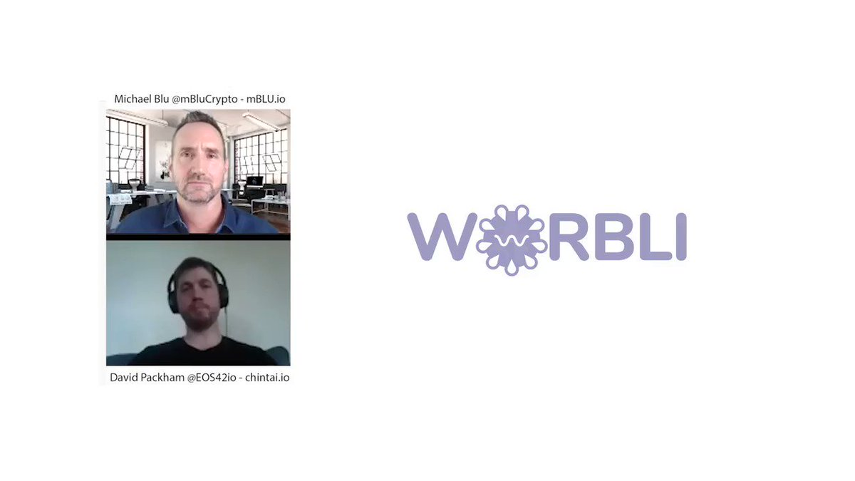 David Packham @GunnisonCap  from EOS 42 talks decentralization, WORBLI, @ChintaiEOS, and the future of cross chain applications with @Mblucrypto.  Find the full video here https://www.youtube.com/watch?v=ZI7dZnAIpU0 …  #Worbli #EOSIO #Chintai