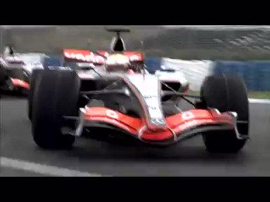 Mercedes advert 2007  Featuring McLaren, Fernando Alonso, Lewis Hamilton & a mystery guest #F1
