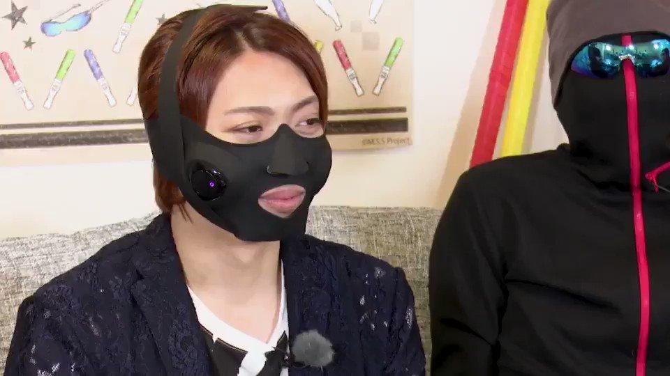 MSSPハウス!今回はマジでワロタ。俺以外が…っ!【マスク型美顔器/変わり種マスク】最新の美顔用EMSの刺激が半端なかった!!【MSSP/M.S.S Project】  @YouTubeより