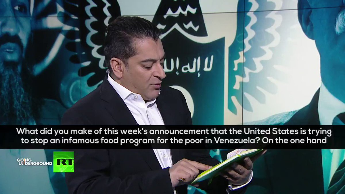 """""""The US is admitting their goal it's goals with sanctions are to STARVE millions of Venezuelans! The CLAP program feeds 6+ million and now the US wants to apply sanctions on this!"""" ⚠️ - @MaxBlumenthal on the US sanctions on Venezuela🇻🇪 Full Interview: youtu.be/dc9bVdoLLow"""