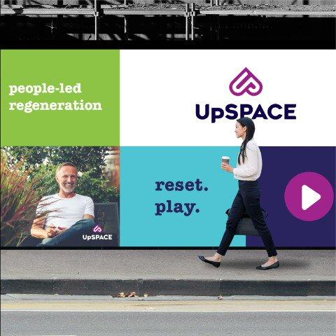 Recent branding work for new property regeneration company UpSPACE...  #branding #marketing #graphicdesign #naming #identity  https://t.co/k0xHnvbq5Z