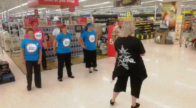 Tesco Ystrad Mynach Dance No 1 #TescoDanceBeats @Tesco @Tesco_Wales @tesconews Thankyou @Dancelicious1 @CRUKCymru @CR_UK @DiabetesUK @TheBHF