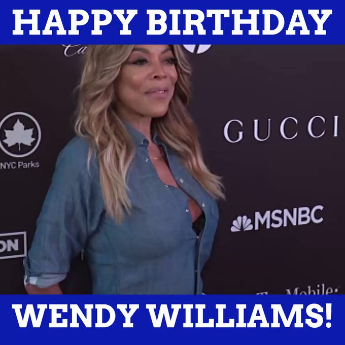Happy Birthday, Wendy Williams!
