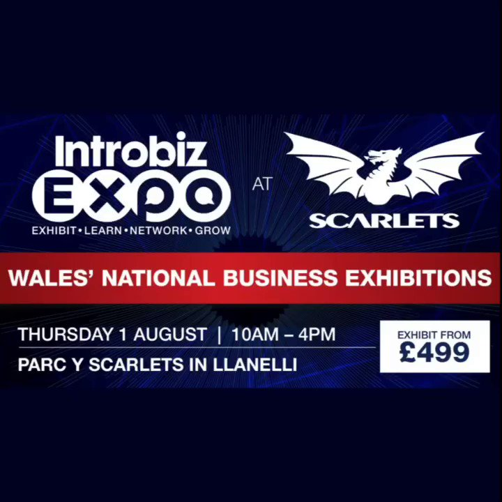 Introbiz Biz Expo on Twitter: See our amazing lineup of top entrepreneurs and sporting legends keynote speakers at #IntrobizExpo #Wales' National #Business 2019 #Exhibitions @scarlets_rugby on Thursday 1st August 8.30am-4pm. Did you see @AdamJReeves_ @rhian_burke @CBDperformance @owaingwynedd @Ajuda_Training…