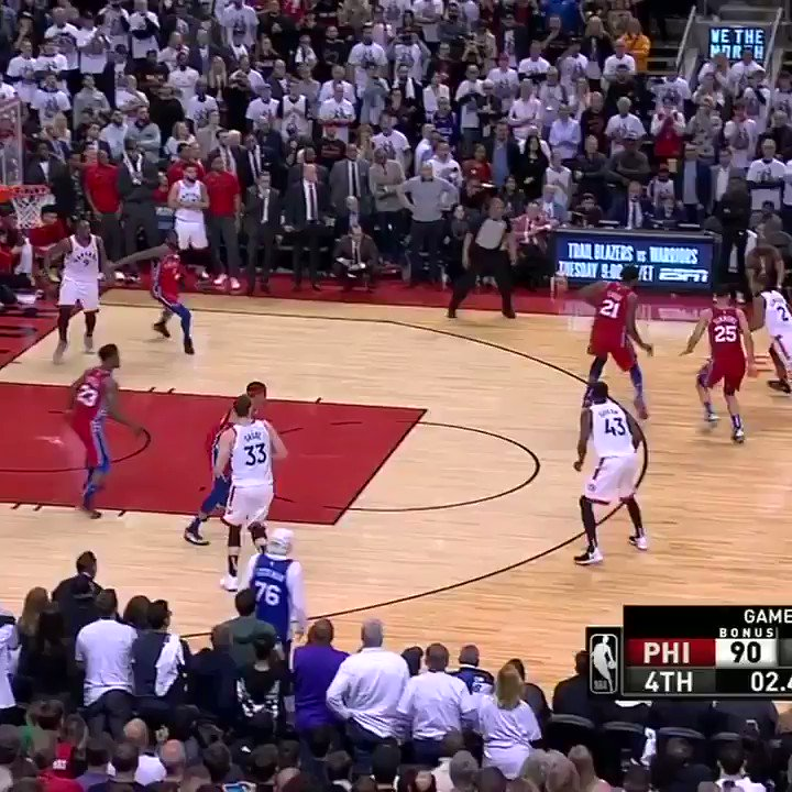 A year ago today, Toronto traded for Kawhi, resulting in championship season 🏆 Kawhi delivered the greatest moment of the run with his game-winner in Game 7 versus the 76ers.